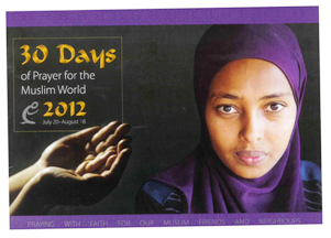 30 Days of Prayer 2012 front cover