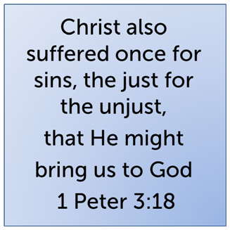 in the person of jesus christ when jesus died on the cross he died as