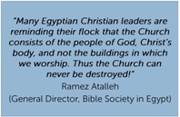 Quote from Egyptian Bible Society
