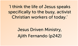 Jesus Driven Ministry quote